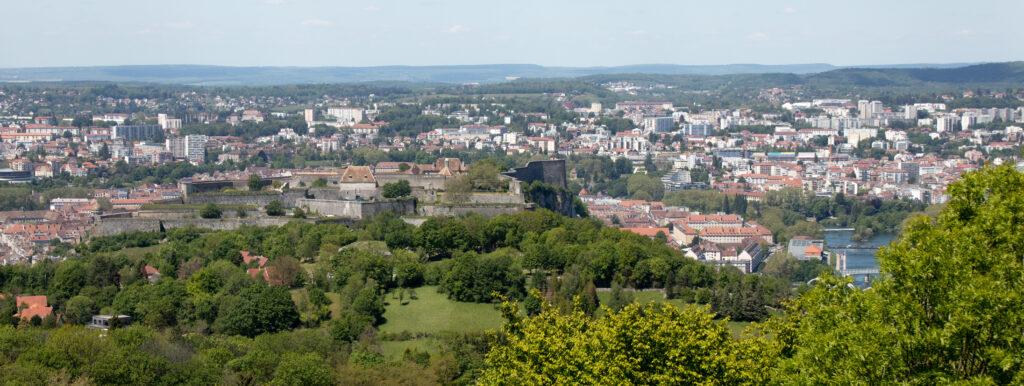 Via Francigena and Besançon