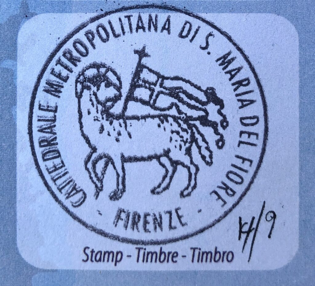 Via Francigena Pilgrim Stamp